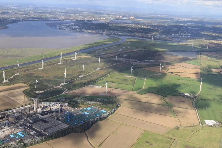 Frodsham Windfarm NON-DEVIATION Flights